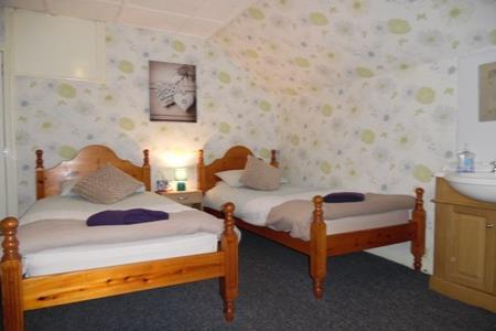 Twin standard room. Free WiFi, Freeview TV