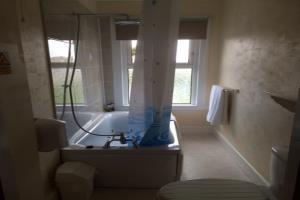 Standard room bathroom.